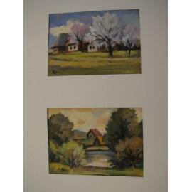 Les - Ručne maľovaný obraz