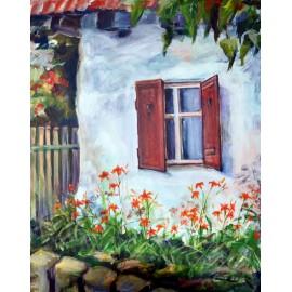 Mária Lenárdová - Pod oknom