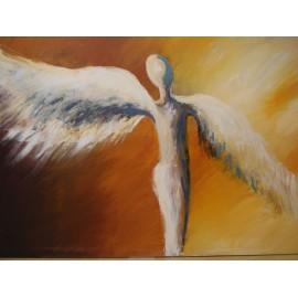 Originál  obraz - Anjel nádeje
