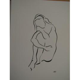 ArtDiela - Kresba tušom 22.