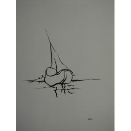 ArtDiela - Kresba tušom č. 19.