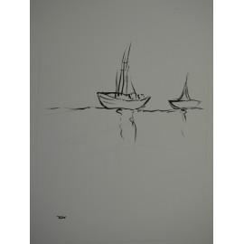 ArtDiela - Kresba tušom č. 18