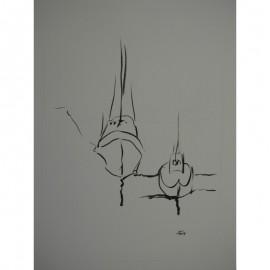 ArtDiela - Kresba tušom č. 17