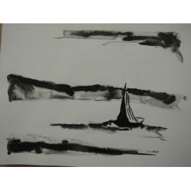 ArtDiela - Kresba tušom č. 16