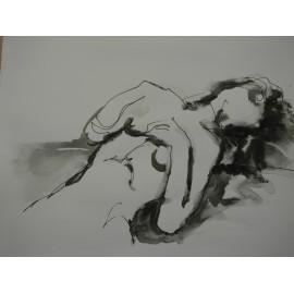 ArtDiela - Kresba tušom č. 15