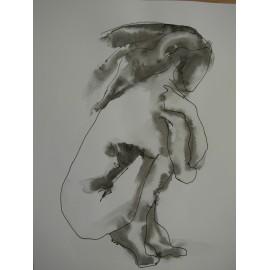 ArtDiela - Kresba tušom č. 14
