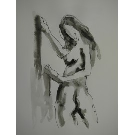 ArtDiela - Kresba tušom č. 11