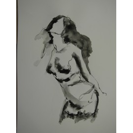 ArtDiela - Kresba tušom IX.