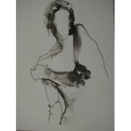 ArtDiela - Kresba tušom III.