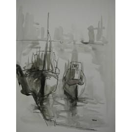 ArtDiela - Kresba tušom VII.