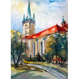 Mária Lenárdová -  Kostol Sv.Mikuláša
