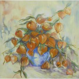 obraz -Jesenná kytica