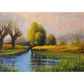 Obraz - Akryl - Odraz vo vode - Jozef Onduš