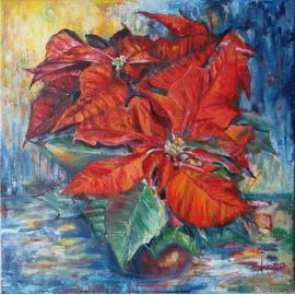 Obraz - Vianočná ruža
