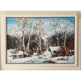 Obraz - Zimná krajina