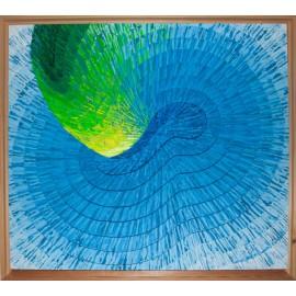 Obraz - Rezonancia I. - modrá