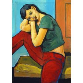 Obraz - Dievča