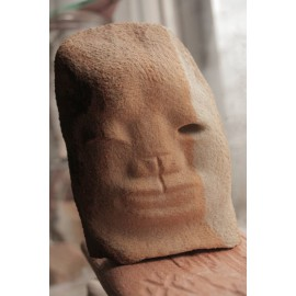 Kamenná socha - Tvár -originál