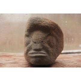 Kamenná socha - Tvár - originál