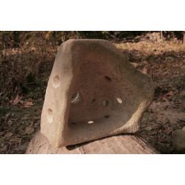 Originálna Kamenná socha - svietník