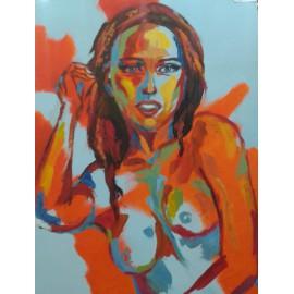 AKT 3 - Originálny obraz, Sosa Eduard