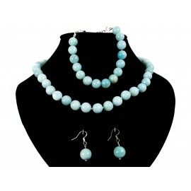 Amazonit - náhrdelník, náušnice, náramok