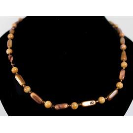 Perleť - náhrdelník, náušnice