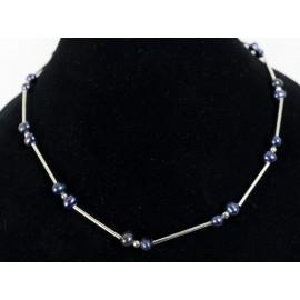 Čierna riečna perla - náhrdelník