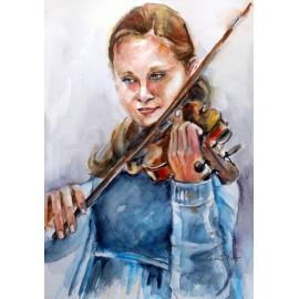 Mária Lenárdová - Huslistka