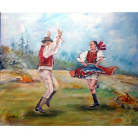 Mária Lenárdová - Tanec pri ohni