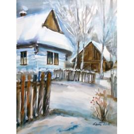 Mária Lenárdová - Zimná idylka