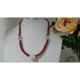 Koral a riečna perla, náhrdelník