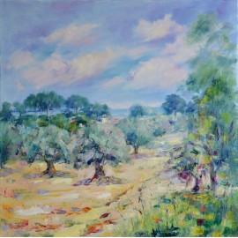 Esther Ksenzsighová - Olivový háj