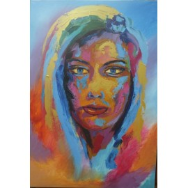 Obraz/akryl - Portrét I. - Artdiela obrazy