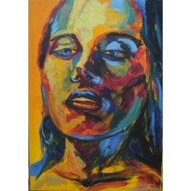 Obraz/akryl - Portrét III. - Artdiela obrazy