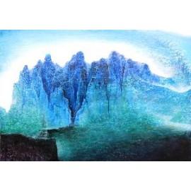 Obraz - Akryl - Duše hôr I. - Mgr.Art Kamil Jurašek
