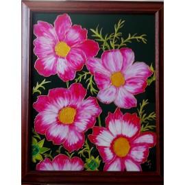 Jana Gubová - Červené kvety