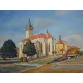 Mgr.Art  Jaroslav Staviščák - Kostol sv.Mikuláša