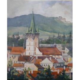 Mgr.Margita Rešovská - Pohľad na Prešov