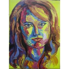 Obraz/akryl - Portrét V. - Artdiela obrazy