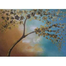 Obraz - akryl - Krajinka IV - Artdiela obrazy