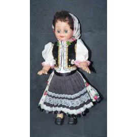 Krojovaná bábika - Mladucha zo Zamutova - ARTDiELA