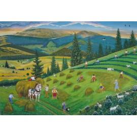 Obraz - Olej - Pod Kráľovou hoľou - Miroslav Potoma