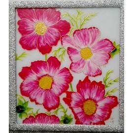 Jana Gubová - Ružové kvety