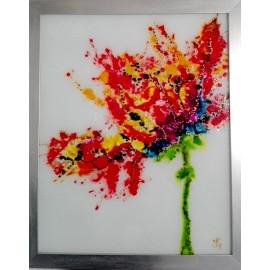 Jana Gubová - Kvet Abstrakt