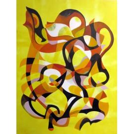 Obraz - Olejomaľba - Abstrakt 3 - Miroslav Kudzia