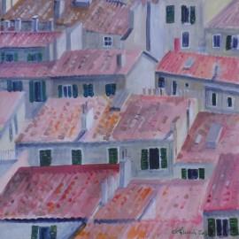 Marseilles - strechy - Ing. arch. Eva Lorenzová