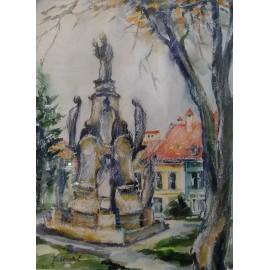 Obraz - Kombinovaná technika - IMMACULATA - Mgr. Margita Rešovská