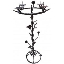 Kovaný štvorramenný svietnik - Novotný Jozef