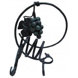 Kovaný stojan na víno - Novotný Jozef